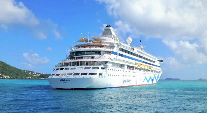 Karibik-Kreuzfahrt mit AIDAvita