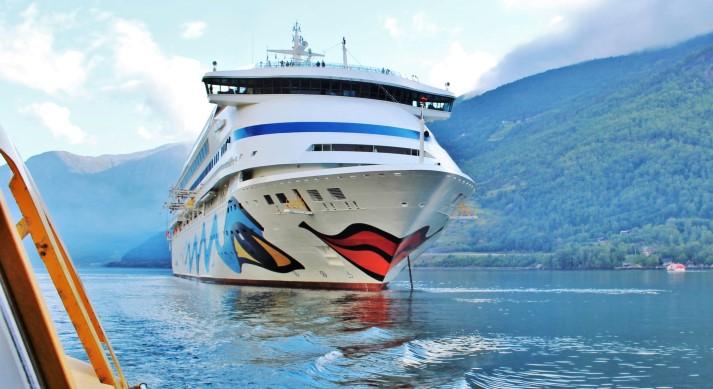 AIDAaura auf Norwegen Kreuzfahrt