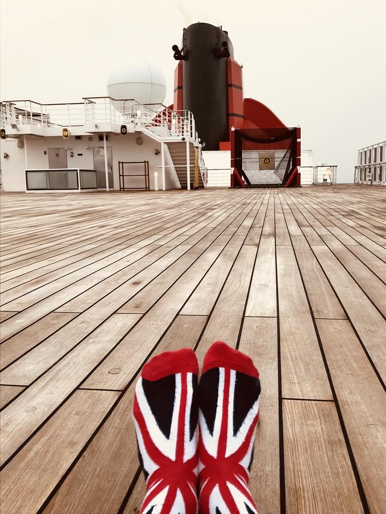 Queen Mary 2 Kurzkreuzfahrt_Deck_2