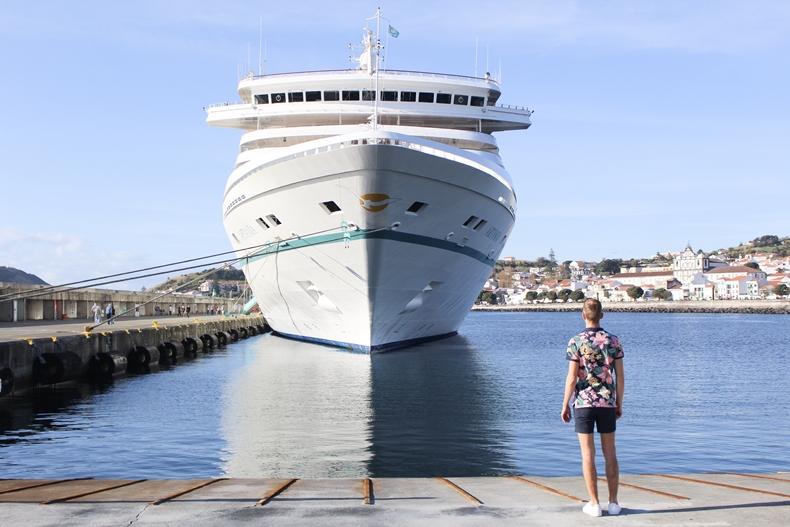 Mit dem TV-Schiff MS Artania auf Azoren-Kreuzfahrt