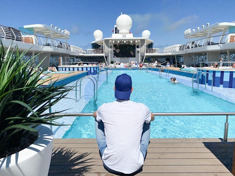 Meine Blaue Reise an Bord der Mein Schiff 2