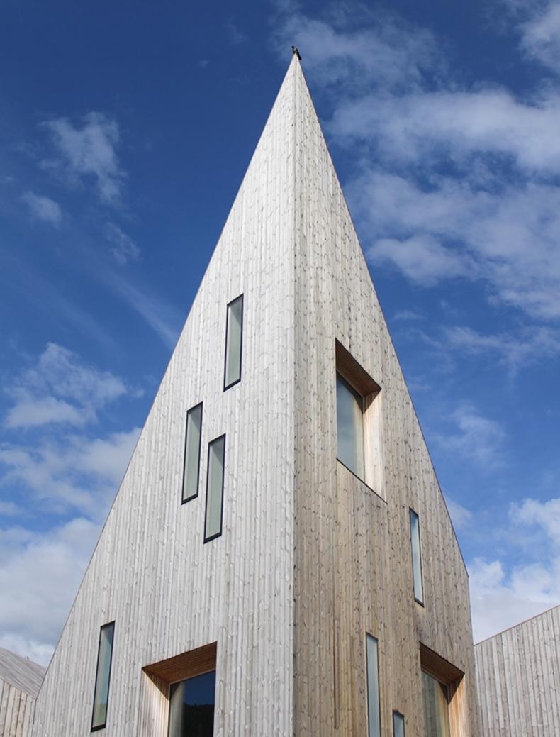 Das Romsdalmuseum in Molde Stadt