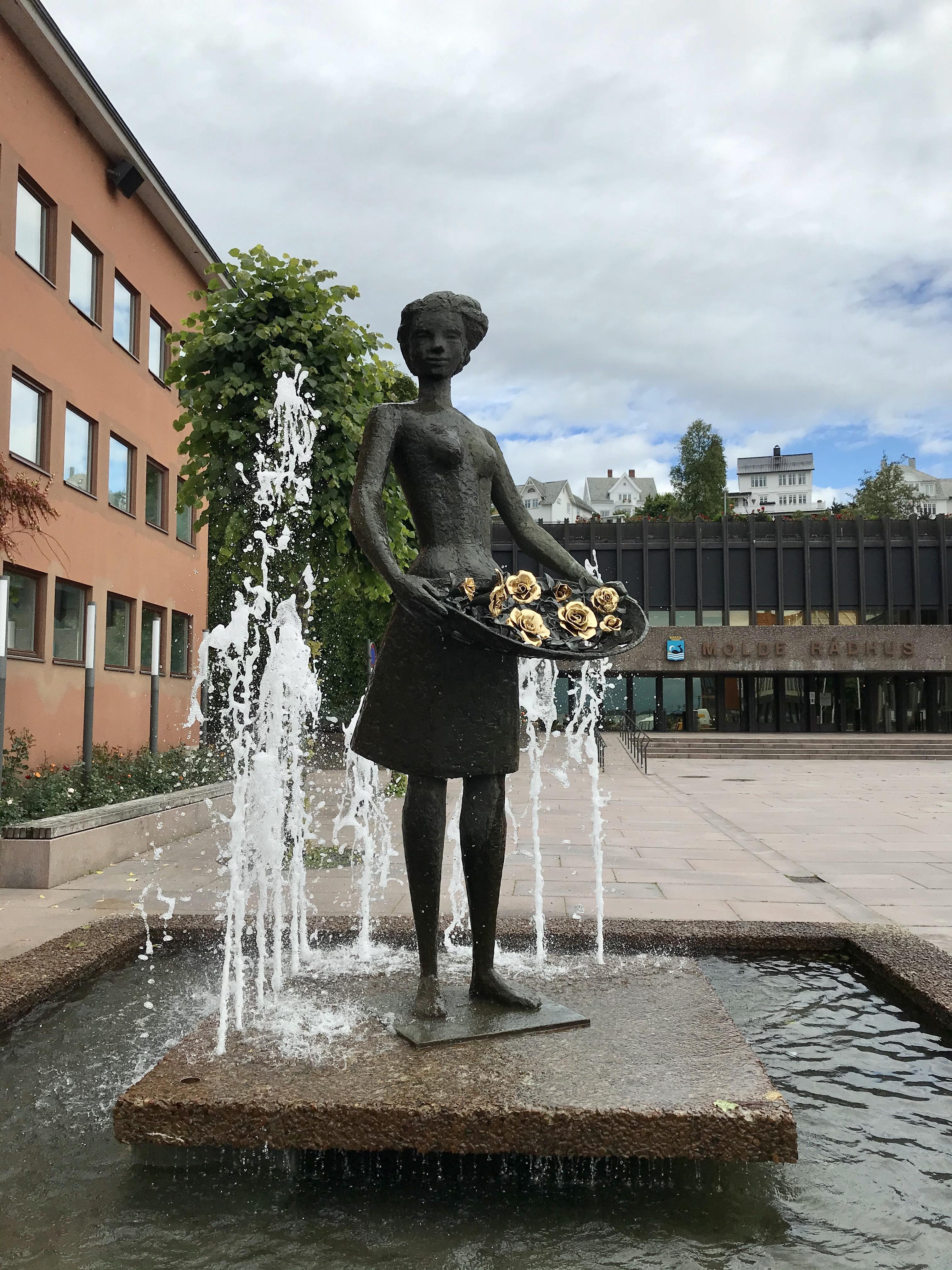 Molde, die Stadt der Rosen