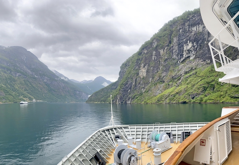 Schönster Fjord Norwegens - der Geirangerfjord