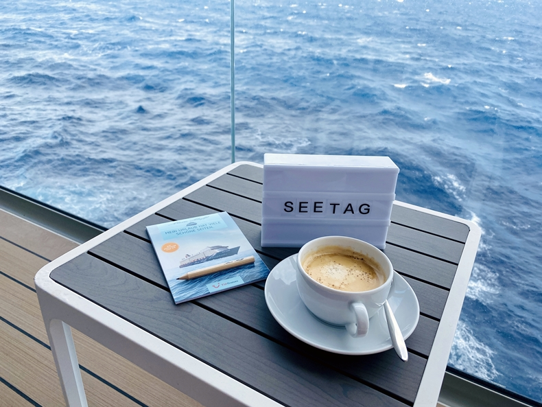 Seeta an Bord von Mein Schiff TUI Cruises