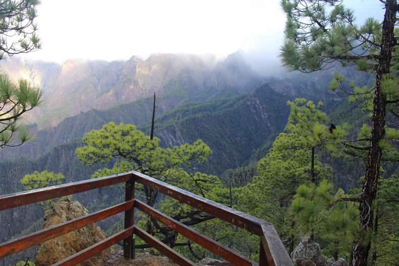 Der Nationalpark Caldera de Taburiente auf La Palma