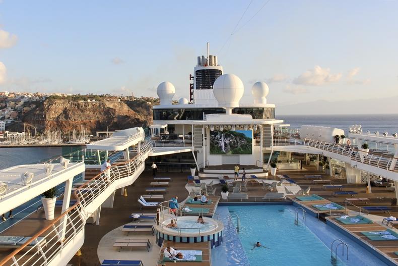 Mein Schiff auf La Gomera
