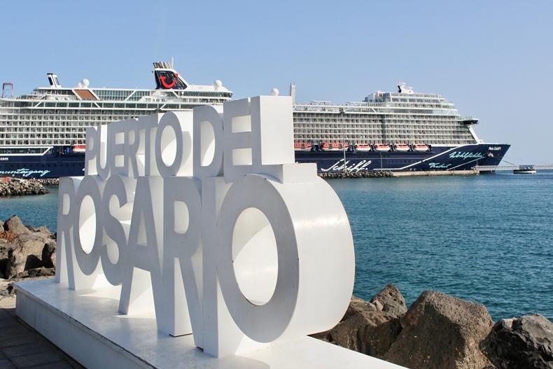 Mein Schiff in Puerto del Rosario