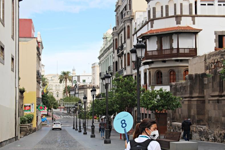 Die Altstadt von Las Palmas