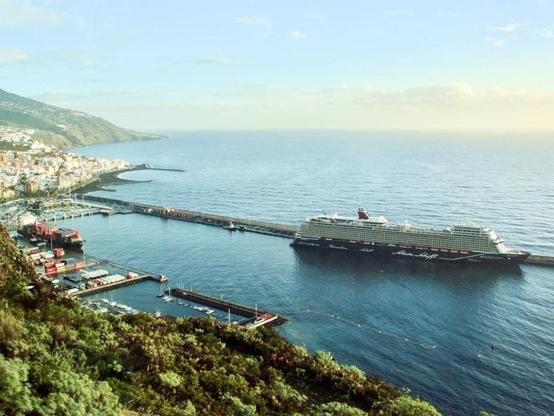 Mein Schiff 1 auf La Palma