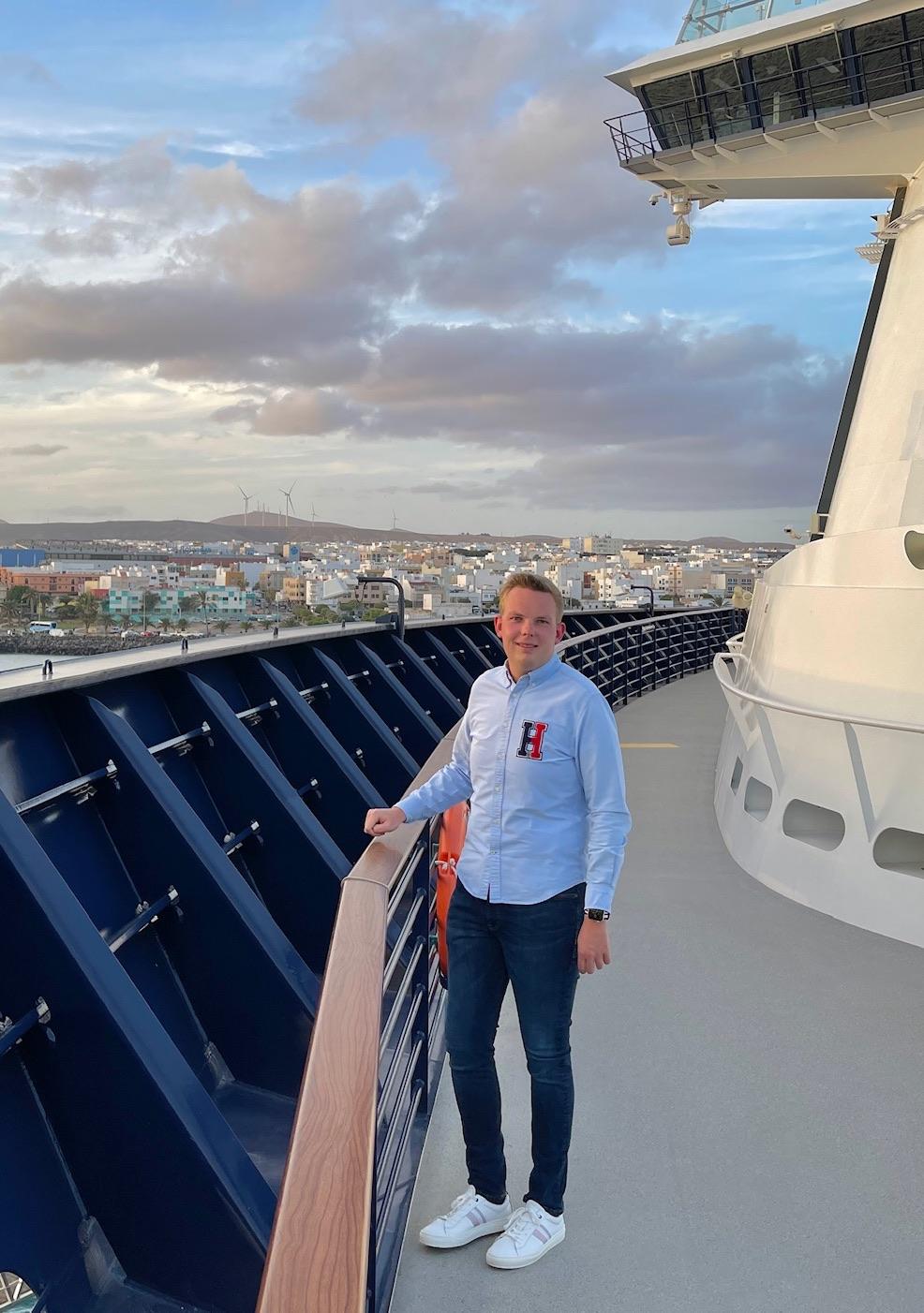 Kreuzfahrt Blogger Martin